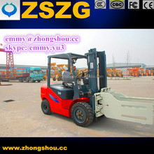 Lift Truck Accessories Paper Roll Clamp Forklift Attachment