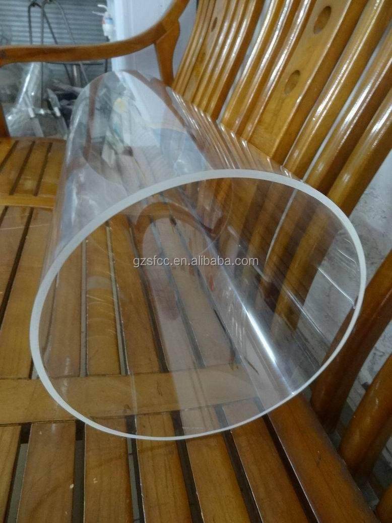 Large diameter acrylic tube view lighting accessories