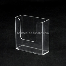 Manufacturer Supplies Table Stand Sign/Dish Acrylic Brochure Stand