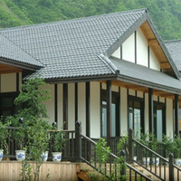 villa synthetic spanish style roof tile
