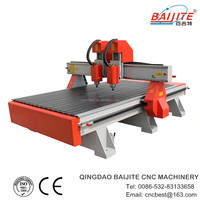 China factory supply smart cnc router with two head high precision CE&ISO9001