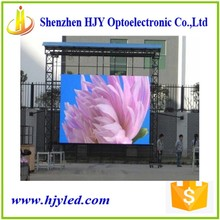 P10 high definition outdoor rgb jumbo display led wall clock