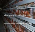 equipamentos automáticos para frangos de corte de gaiola em bateria