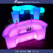 led furniture/lights furniture chair set/bar furniture