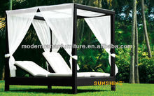 Double lounge bed - garden leisure