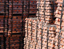 supply pure copper ingots for hot sale with competitive price