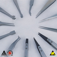 Antistatic Stainless Steel Tweezer