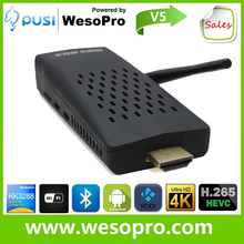Android TV Dongle Android 4.4.2 Kitkat Bluetooth 4.0 RJ45 Quad Core RK3288 TV Dongle