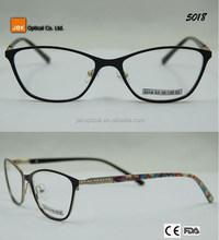 shenzhen classic design ocean blue fancy optic for women color reading glasses optical frames