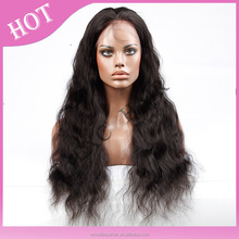 Natural Look Virgin Human Hair Wig For Hair Loss Treatment