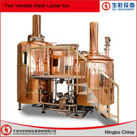 copper beer equipment and fermentation tank copper beer brewing equipment tanks