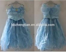 películas's niño justo cuento de niños niñas cosplay traje de princesa cenicienta vestido de fiesta de disfraces para niños