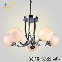GZ20472-5P frosted white modern glass pendant light chandelier lighting modern small decoration chandelier pendant lamps