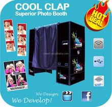 Cool Clap Kiosk Photo Booth Photo Studio Equipment