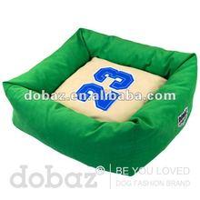 2012 fashion design, comfortable dog bed, 100% polyester square dog bed cat hammock bed