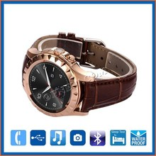 2015 Latest 1.22 Inch HD IPS Round Screen Wrist Watch Android Smart Watch Phone dual sim GPS OP-S1