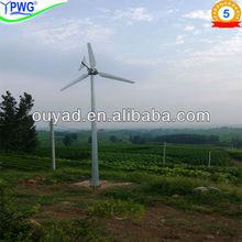 3kw generadores de turbina de precios