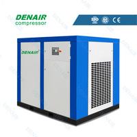 DENAIR top quality silent vsd air screw compressor machine