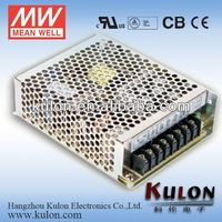 Meanwell 15-150W UL/CB/CE AC/DC High Reliability Miniature 1-4 Output Switching Power Supply/SMPS/PSU,65W SMPS