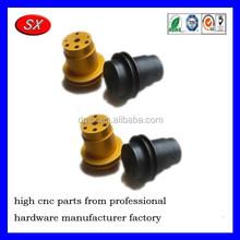 Customized oxidization yellow/black aluminium CNC Part,CNC turning part