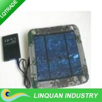 LQ-High efficiency solar panel / Folding solar charging bag / can charge mobile phone during trip