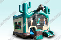 Inflatable horse cartoon bouncer slide/combo