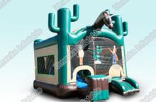 Inflatable horse cartoon bouncer slide/combo