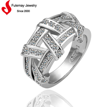 2015 New model platinum plated ring wholesale lots