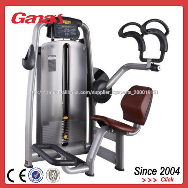 2014 nuevos productos comerciales crunch abdominal máquinas de fitness equipo