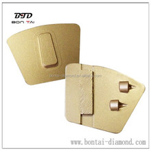 China supplier diamond grinding shoe with PCD segments for floor remove coating