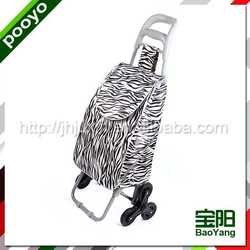 folding shopping trolley good quality warehouse cage