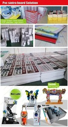 3mm thick foam board display advertising sheets sintra board print SZ BX 1126
