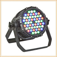 hot sell &newly Waterproof led par64 54 3w RGBW led king par light