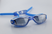 Factory directly offer adjustable band swimming goggles