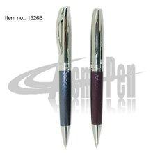 New Item Novelty Design Enbossed Thread Metal Twist ballpoint pen Parker style refill High Quality Pens for Branded Stationery