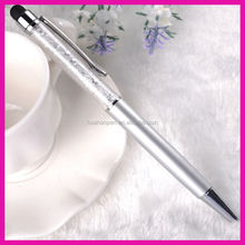 Promotional gift crystal diamond stylus pen manufacturer wholesale crystal ball pen with customized logo