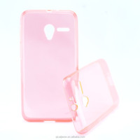 good quality Soft TPU case without texture Cover for Pixi 3 OT4027