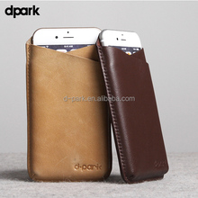 d-park Slim Leather Phone Case Cover Holster for iPhone 6s Case Mobile Phone Cases Factory China Wholesale