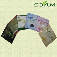 fruit flavors slimming tea/konjac style weightloss tea