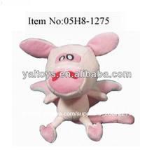cerdo rosa con alas de ángel/cerdo volador con cola larga