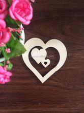 newest 2015 novelty Japanese heart shape air freshener/freshner wood