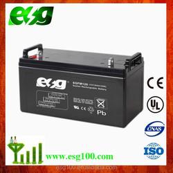 Sealed lead acid ups storage battery 12V 120Ah long life UPS battery