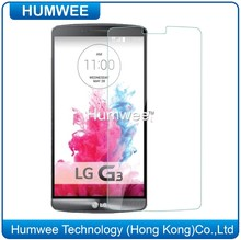 Best Washable Clear Toughened Screen Protector for LG G3 with No Fingerprint