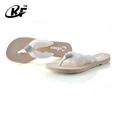 Rhinestone chinera, flip flop chinelo, fábrica de calçados na china