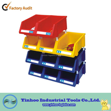 bulk stack&nest plastic wall mounted open front storage bins tool box alibaba China