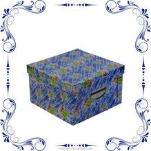 Square Cardboard Paper Storage Box
