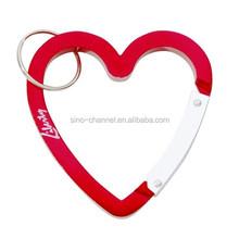 Factory Price Popular Fashion Heart Carabiner