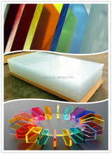 15 mm thickness Organic glass sheet/cast acrylic board for advertising
