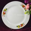 Placa cerâmica louça, prato de porcelana atacado, hotel utilizado placa de pratos