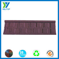High quality building color steel stone coated metal roofing tiles